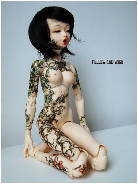 [Encres Folles] - Maquillage, tatouage Banshee2