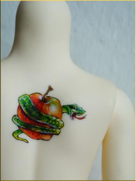[Encres Folles] - Maquillage, tatouage No_Serpentpomme_04-1