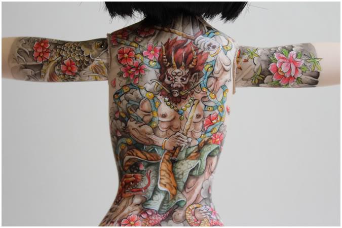 [Encres Folles] - Maquillage, tatouage Oni06