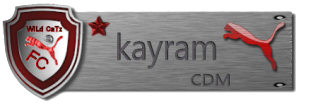 Team graphics/sets Kayram