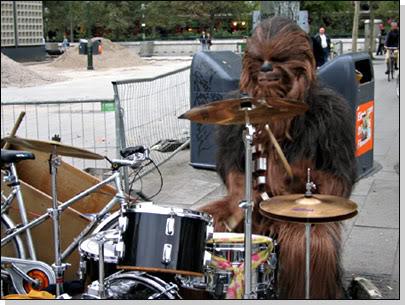 Star Wars Humor [Como nunca lo viste] Chewiebateria