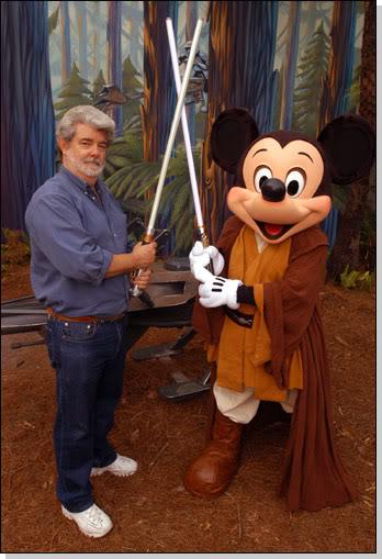 Star Wars Humor [Como nunca lo viste] Lucasvsmickey