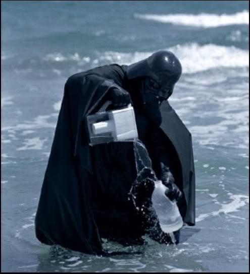 Star Wars Humor [Como nunca lo viste] Vader_agua