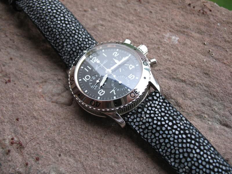 Bracelet en Galuchat Breguettype20003