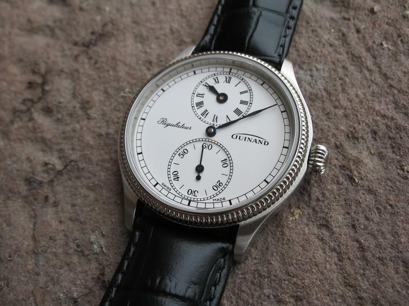 Feu des plus belles montres à lunettes guillochées Guinand006