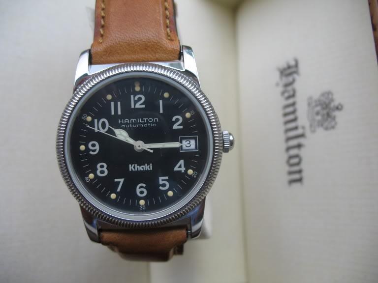 Feu des plus belles montres à lunettes guillochées Hamiltonauto010