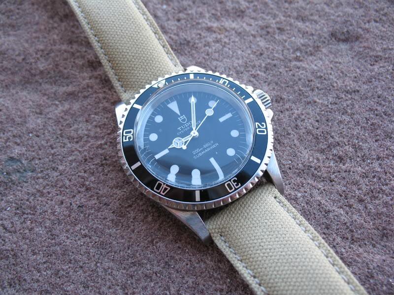 C est quoi comme matiere le CANVAS pour les bracelet ? Tudor048