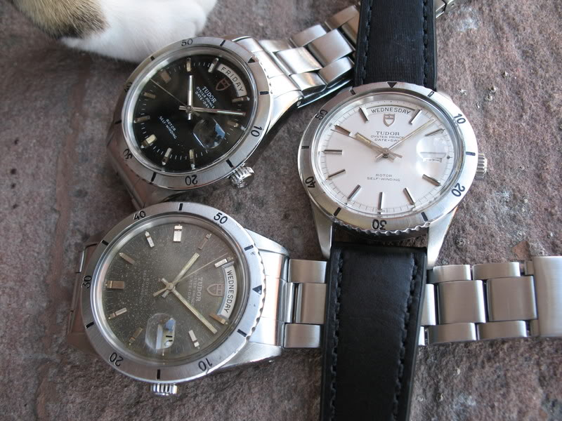 Vous arrive-t-il d'acheter la même montre avec des cadrans différents ? Tudor7020029