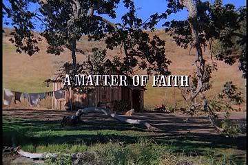 """faith - """"A MATTER OF FAITH"""" A"""