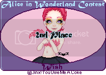 Alice in Wonderland Awards 2ndplacealiceaward