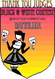 Black & White Contest Awards Damnlizajudge2