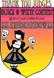 Black & White Contest Awards Xxliquidrainbowxxjudge2