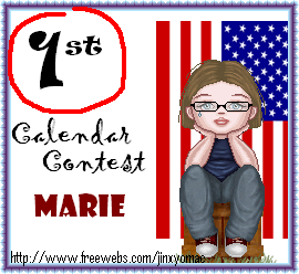 Calendar Contest Awards 1stplacecalendar