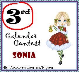 Calendar Contest Awards 3rdplacecalendar