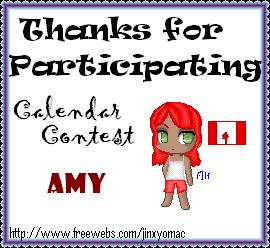 Calendar Contest Awards Participation1calendar