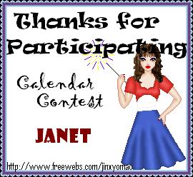 Calendar Contest Awards Participation2calendar