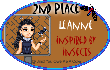 Inspired by Insects Awards 2ndleanne