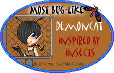 Inspired by Insects Awards Buglikedemoncat