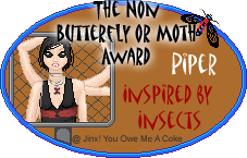 Inspired by Insects Awards Nonpiper