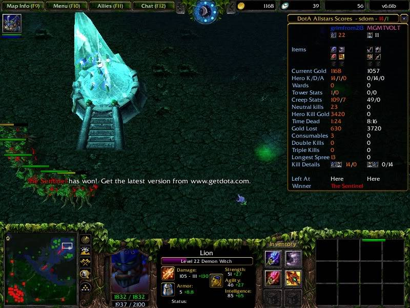 Post up your DotA screenshots here Gg