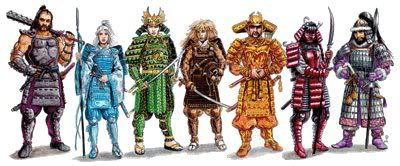 anecdotas de la noche eterea Samurai
