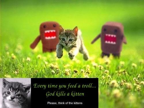 Text Griefers God-kills-kitten-troll