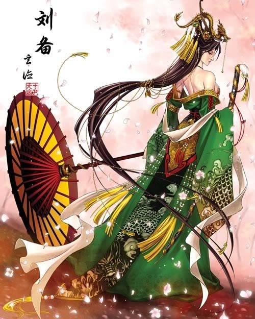 Nếu các nhân vật trong Tam Quốc Chí là Nữ ??? Liubei