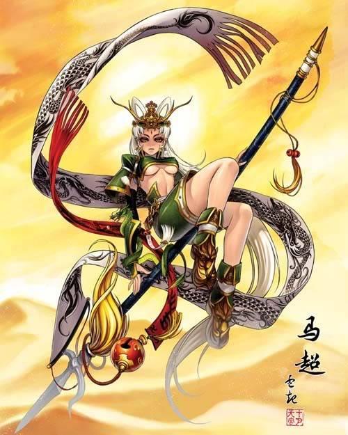 Nếu các nhân vật trong Tam Quốc Chí là Nữ ??? Machao