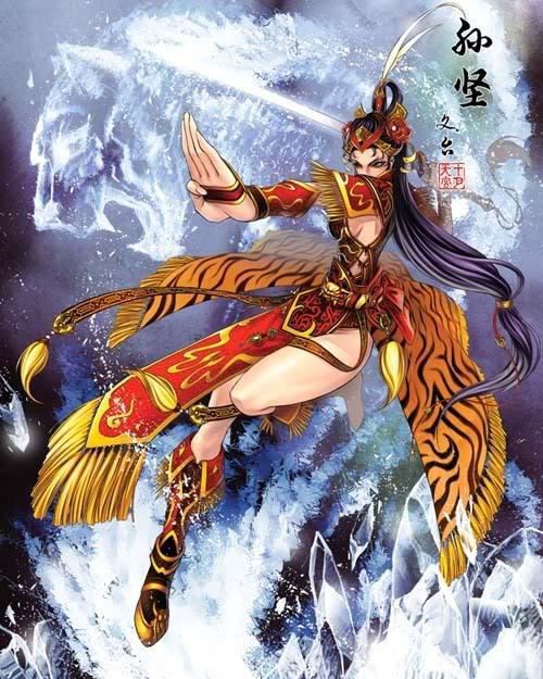 Nếu các nhân vật trong Tam Quốc Chí là Nữ ??? Sunjian