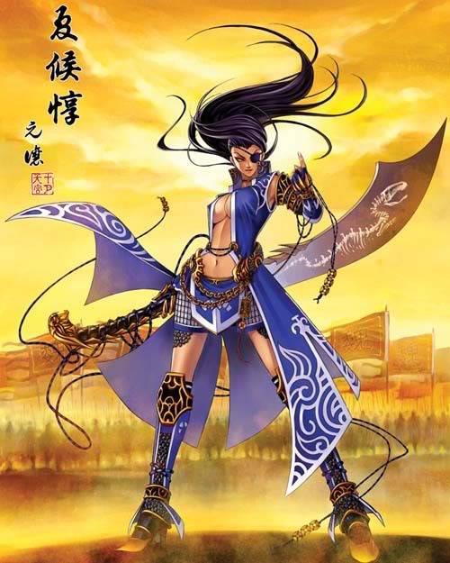 Nếu các nhân vật trong Tam Quốc Chí là Nữ ??? Xiahoudun