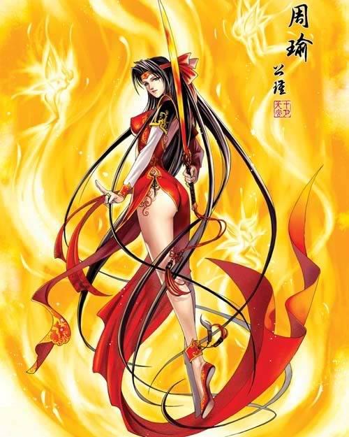 Nếu các nhân vật trong Tam Quốc Chí là Nữ ??? Zhouyu