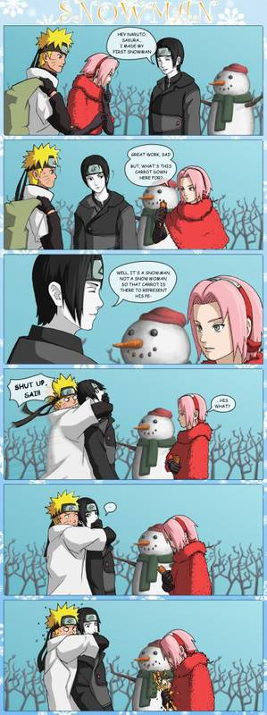 Merry Christmas everyone! Snowman_by_nekoni-1