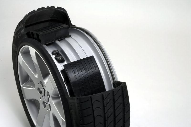 Sistem keamanan Mobil Presiden Kita Mercedes-benz-run-flat-tire