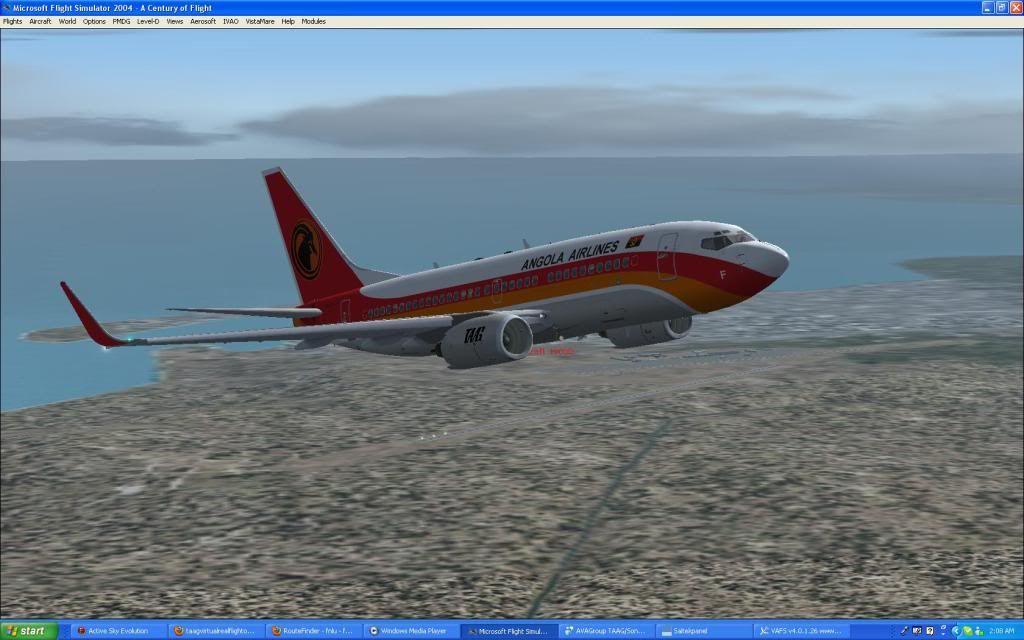 Domestic RFO Fnlu/Fnhu/Fngi and return route. Screen08-2