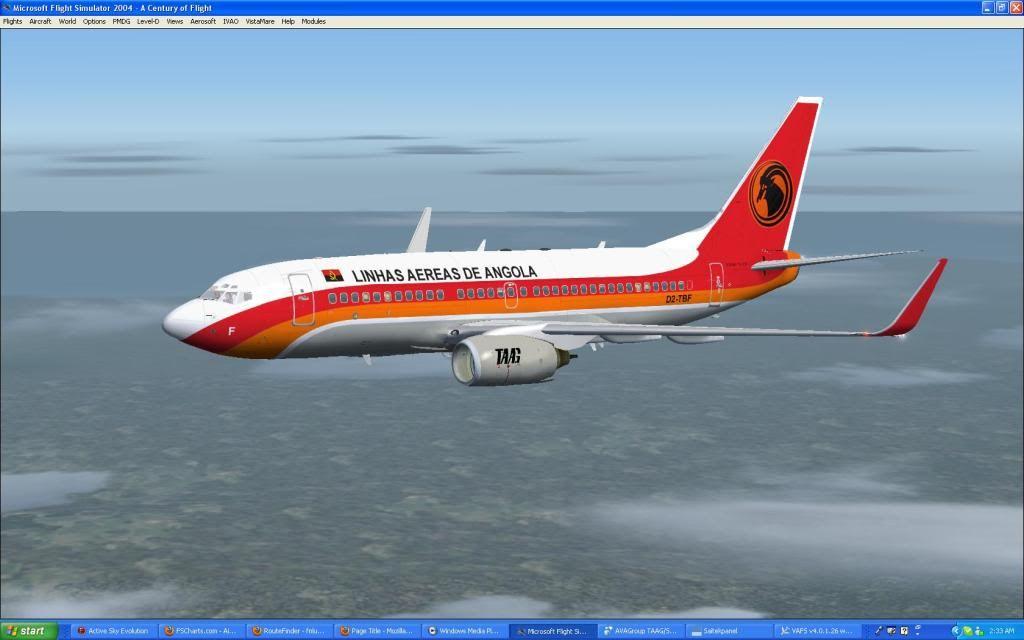 Domestic RFO Fnlu/Fnhu/Fngi and return route. Screen09-2