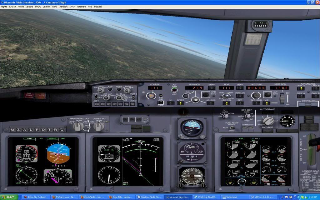 Domestic RFO Fnlu/Fnhu/Fngi and return route. Screen11-2