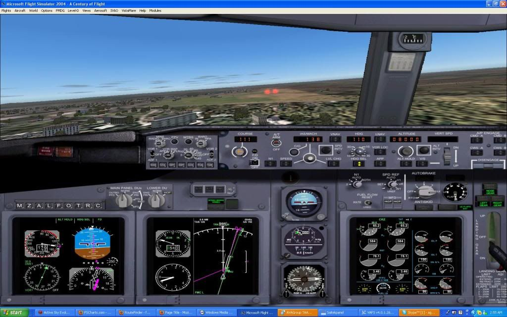 Domestic RFO Fnlu/Fnhu/Fngi and return route. Screen14-2