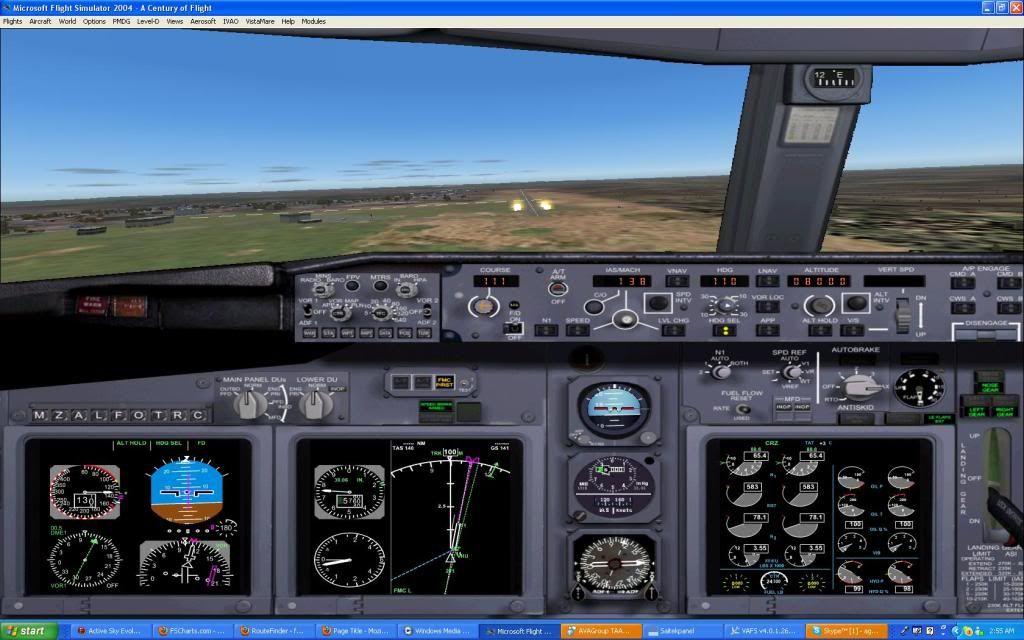 Domestic RFO Fnlu/Fnhu/Fngi and return route. Screen15-3