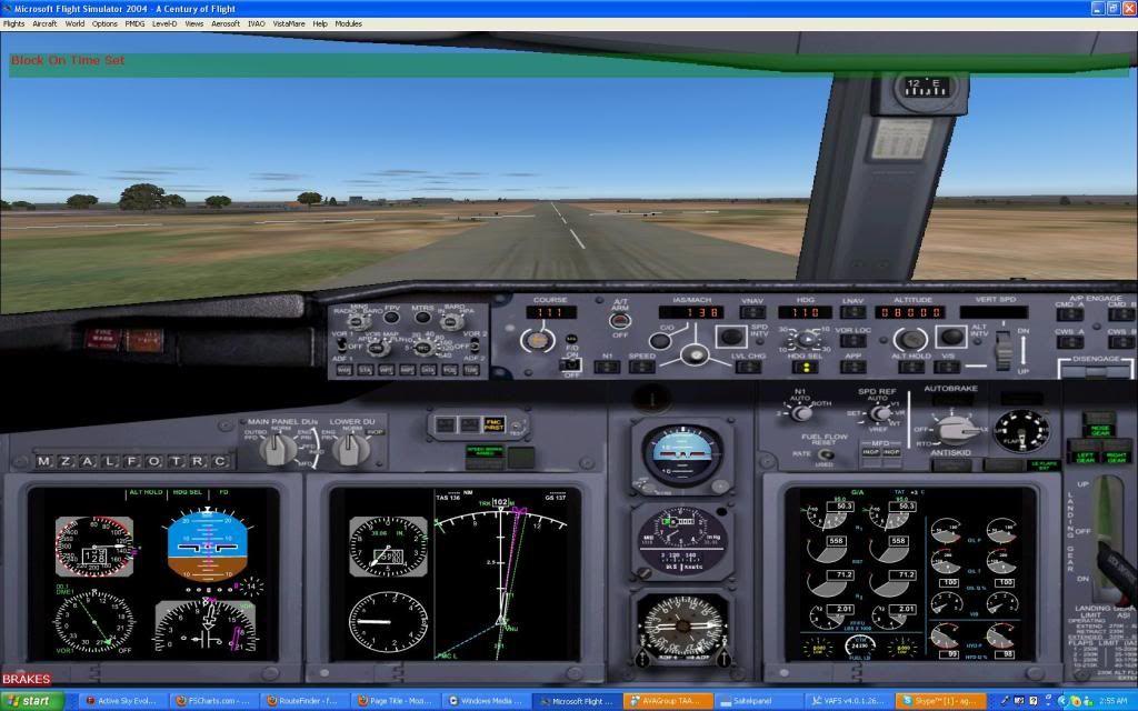 Domestic RFO Fnlu/Fnhu/Fngi and return route. Screen17-3