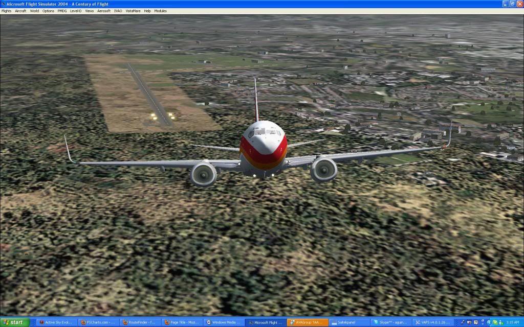 Domestic RFO Fnlu/Fnhu/Fngi and return route. Screen25-3