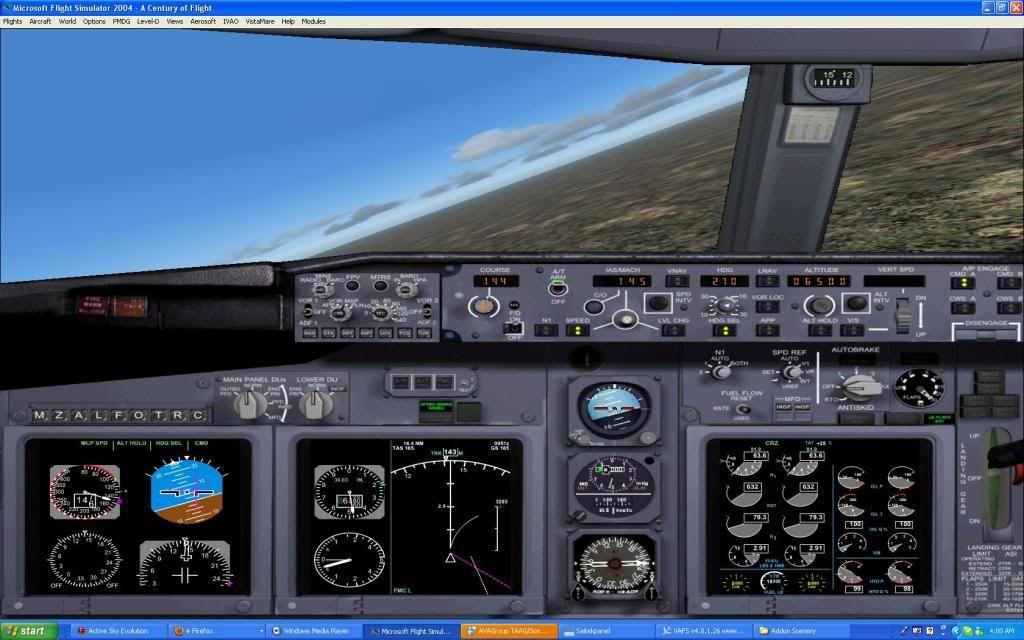 Domestic RFO Fnlu/Fnhu/Fngi and return route. Screen30-3
