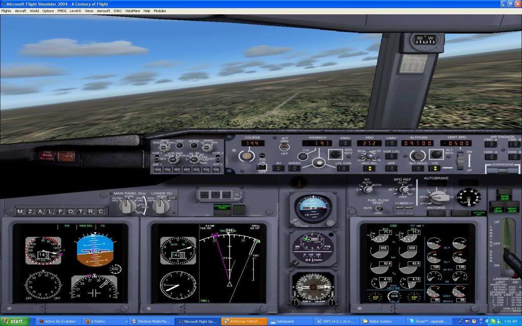 Domestic RFO Fnlu/Fnhu/Fngi and return route. Screen33-3