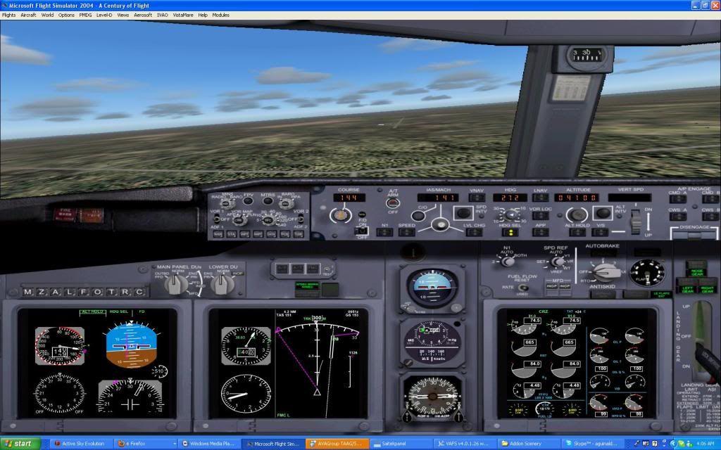 Domestic RFO Fnlu/Fnhu/Fngi and return route. Screen35-2