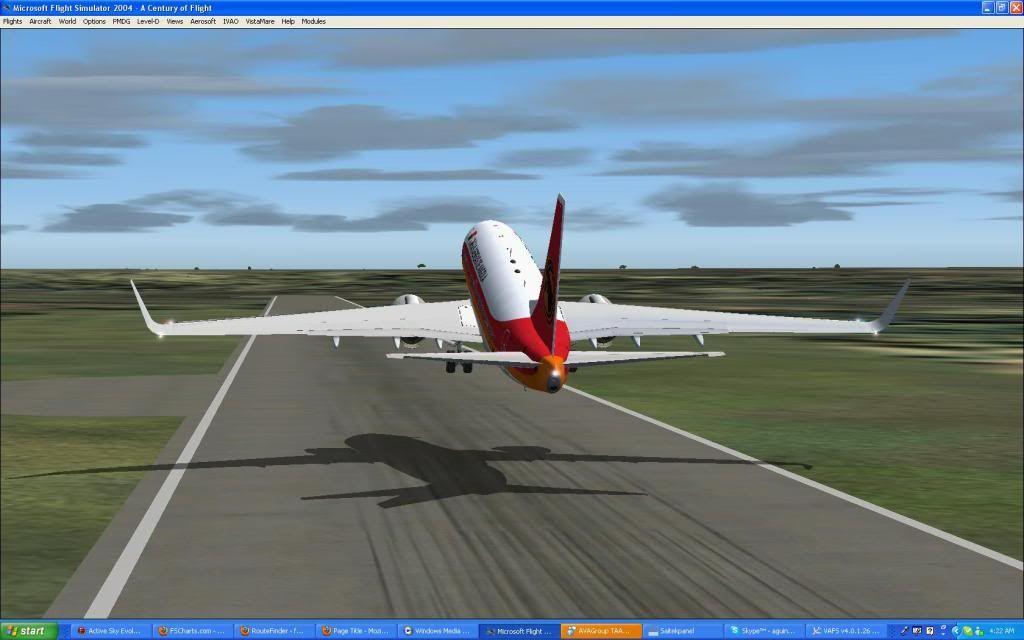 Domestic RFO Fnlu/Fnhu/Fngi and return route. Screen47-1