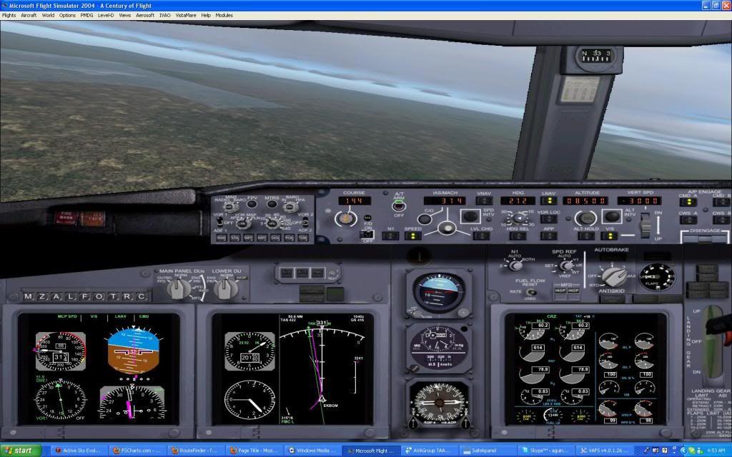 Domestic RFO Fnlu/Fnhu/Fngi and return route. Screen50