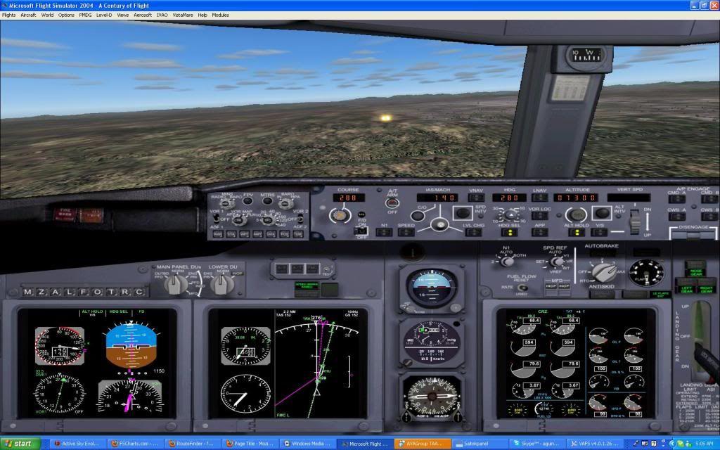 Domestic RFO Fnlu/Fnhu/Fngi and return route. Screen52