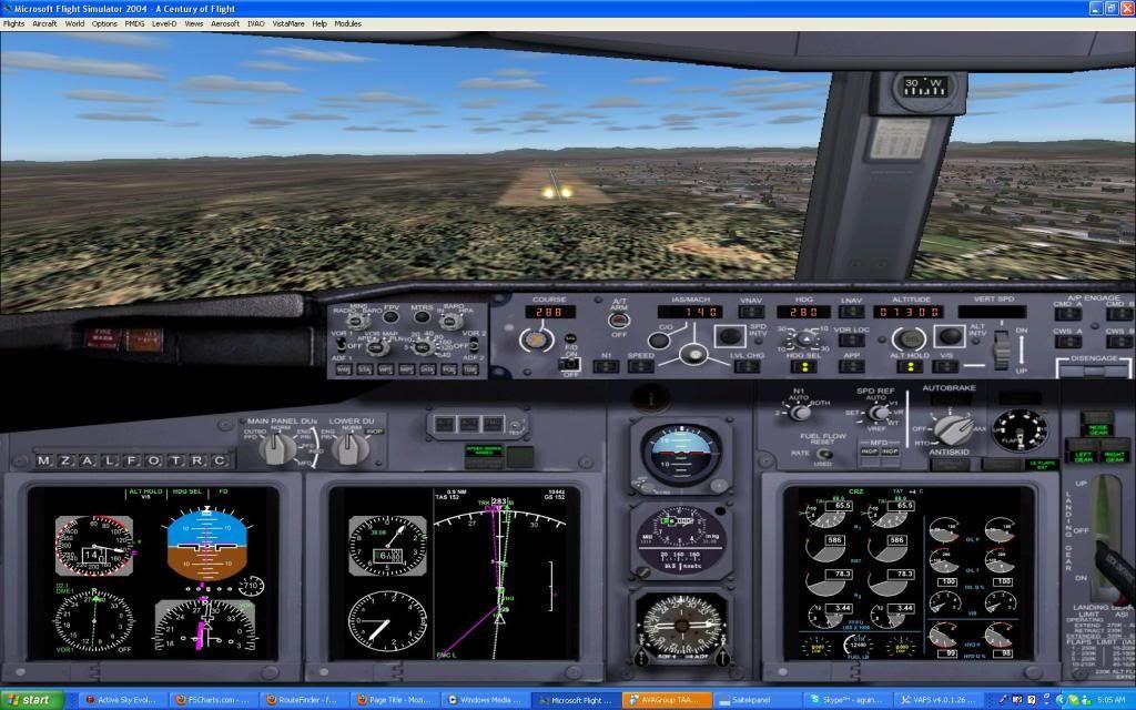 Domestic RFO Fnlu/Fnhu/Fngi and return route. Screen55-1