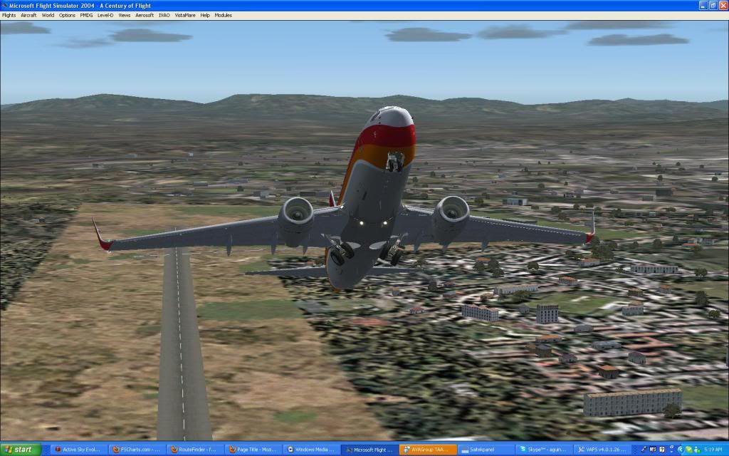 Domestic RFO Fnlu/Fnhu/Fngi and return route. Screen64