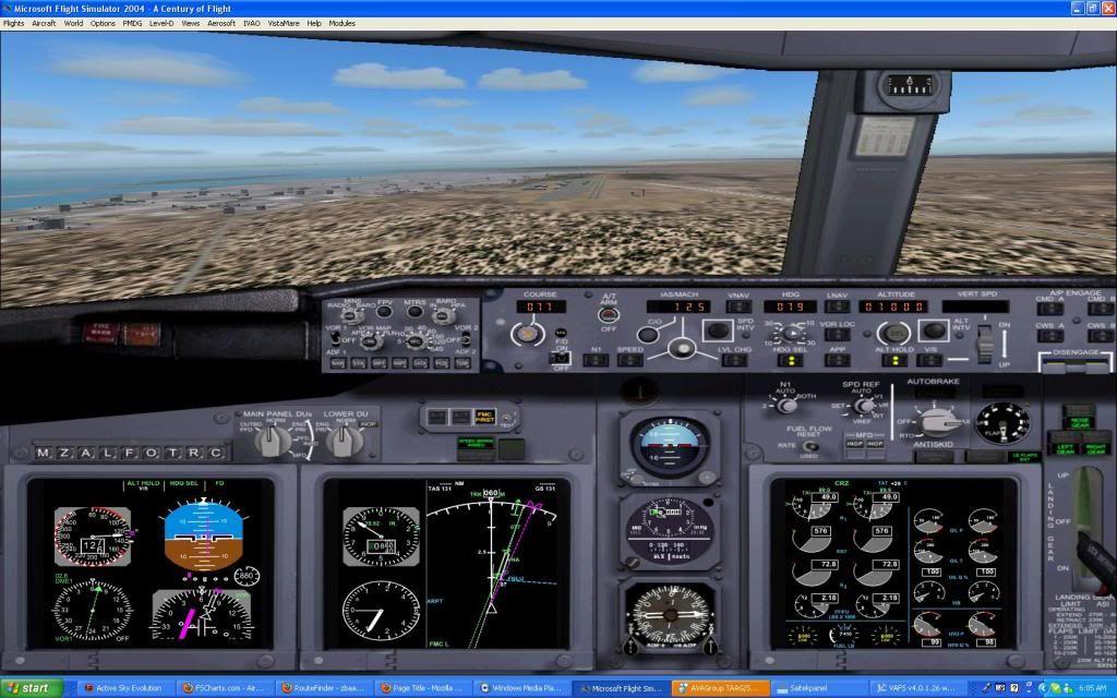 Domestic RFO Fnlu/Fnhu/Fngi and return route. Screen71