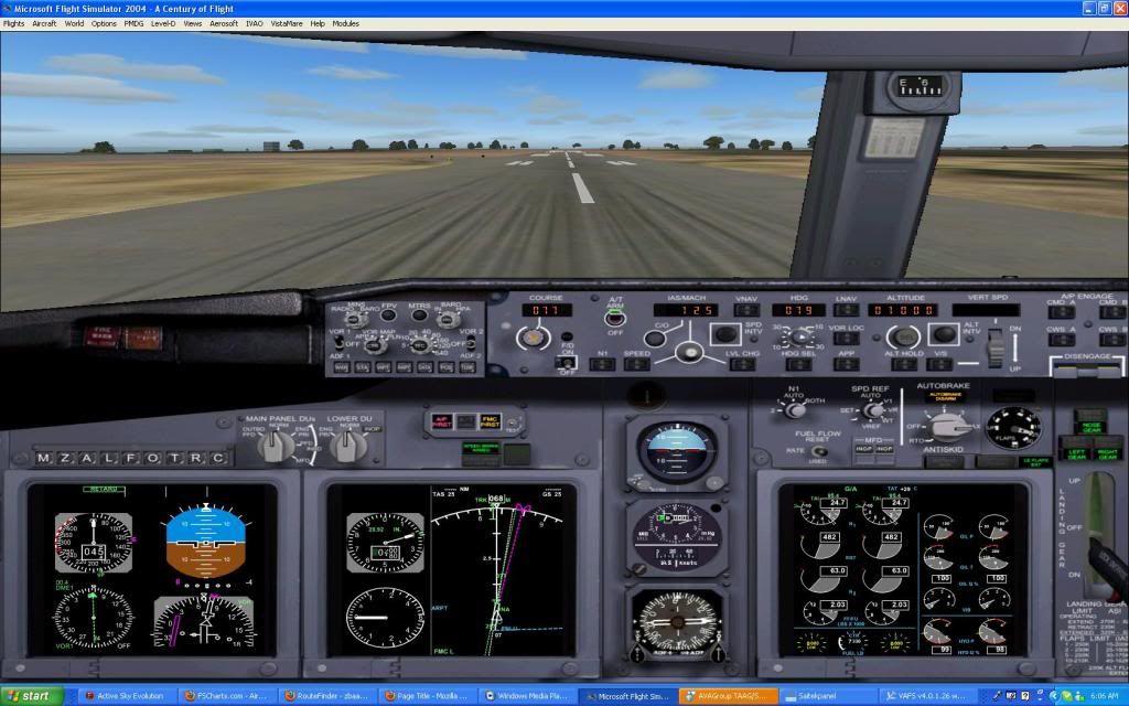 Domestic RFO Fnlu/Fnhu/Fngi and return route. Screen74